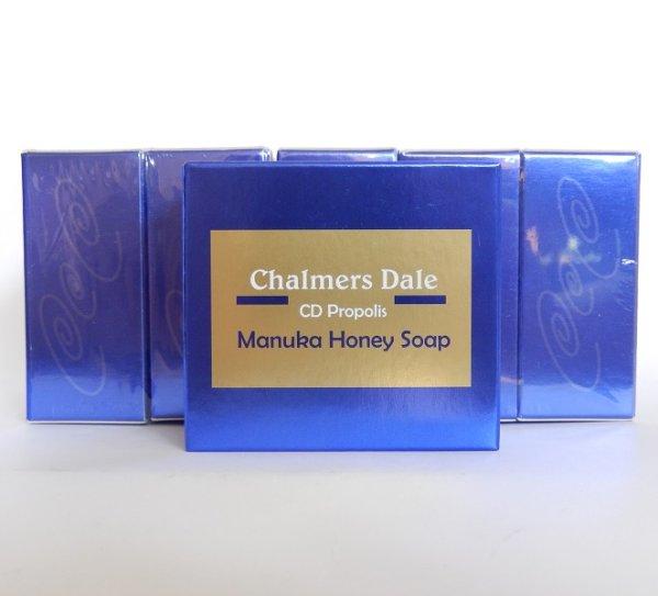 画像1: Chalmers Dale プロポリス&マヌカハニーソープ(プロポリス石鹸) 100g×6個 (1)